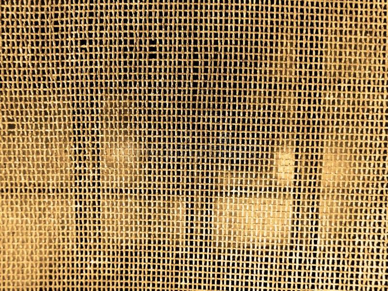 Goldenes Gitter, das Glanz ausstrahlt lizenzfreie stockbilder