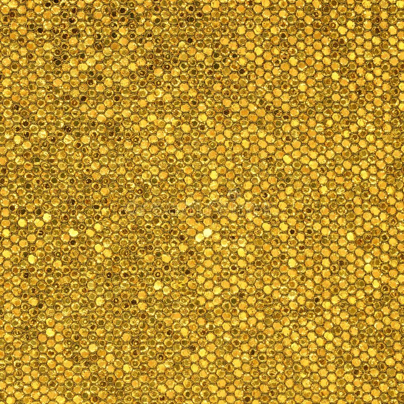 Goldenes Mosaik lizenzfreie stockbilder