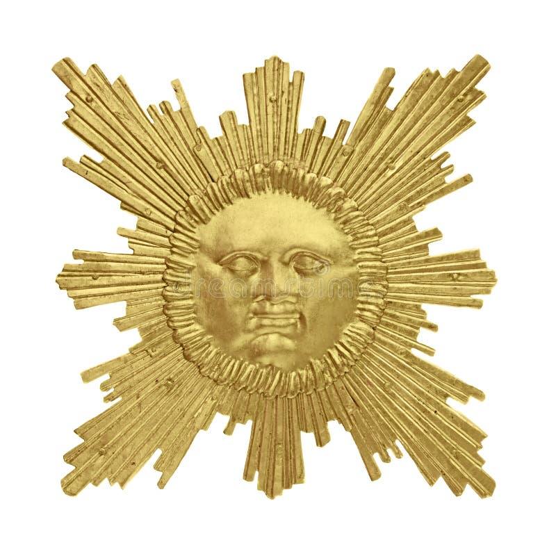Goldene Sonne lizenzfreie stockfotos