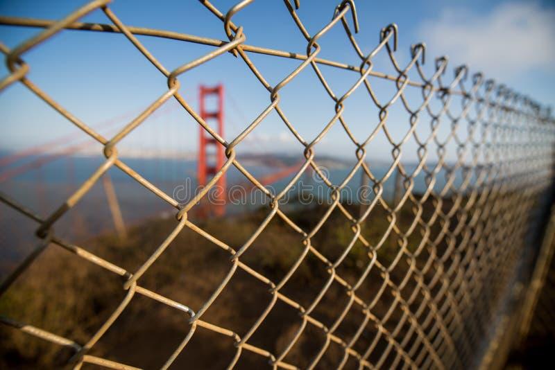 GoldenGate桥梁旧金山 免版税图库摄影