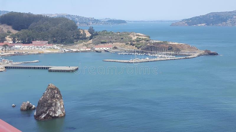 Goldengate桥梁1 库存图片