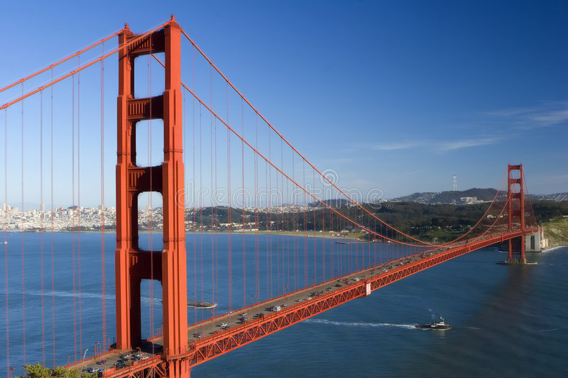 GoldenGate royalty free stock photography