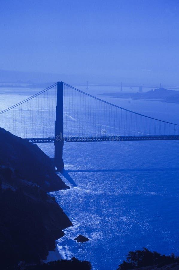 Download Goldengate Brücke stockbild. Bild von grenzsteine, filter - 26567