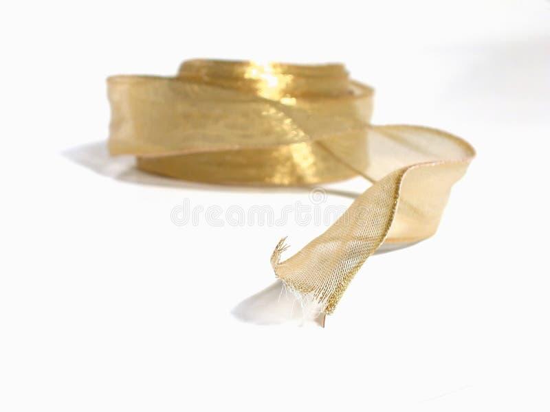 Goldfarbband lizenzfreie stockfotos
