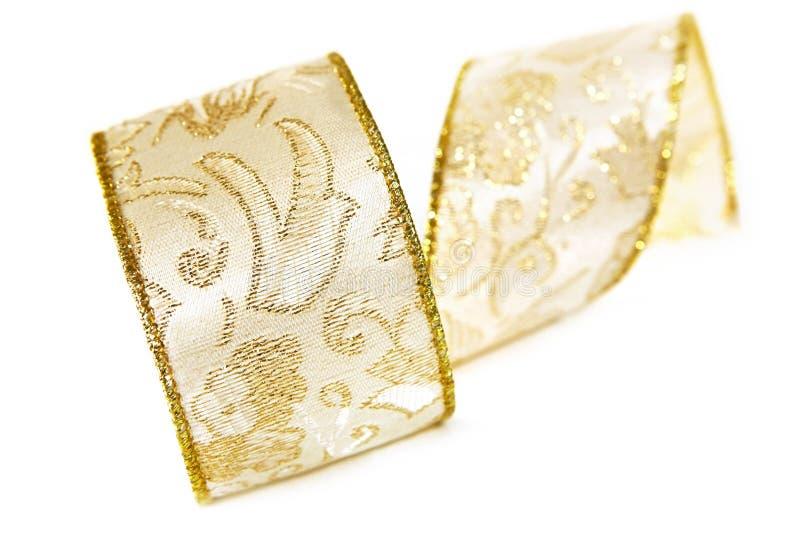 Goldfarbband lizenzfreie stockbilder