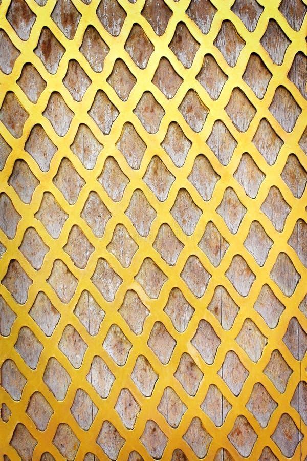 Goldfarben-Wandmasche kopiert Beschaffenheit für Hintergrund stockfotografie
