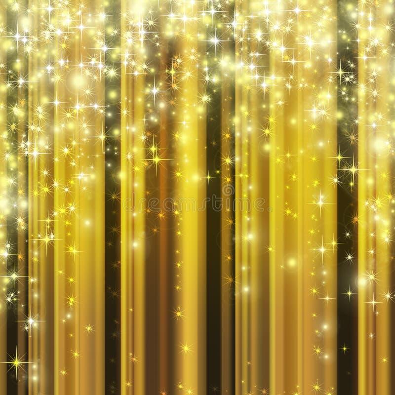 Goldfeierhintergrund   vektor abbildung