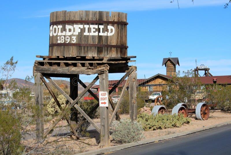 Goldfield,亚利桑那 免版税库存照片