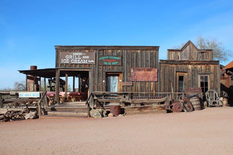 Goldfield, Arizona royalty free stock photography