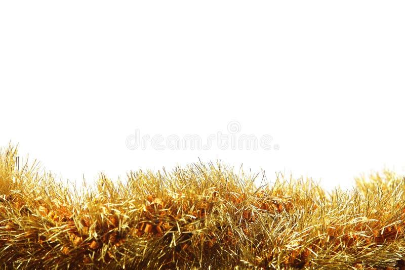 Download Goldfilterstreifen Auf Weißem Hintergrund Stockbild - Bild von braun, vorabend: 27726117