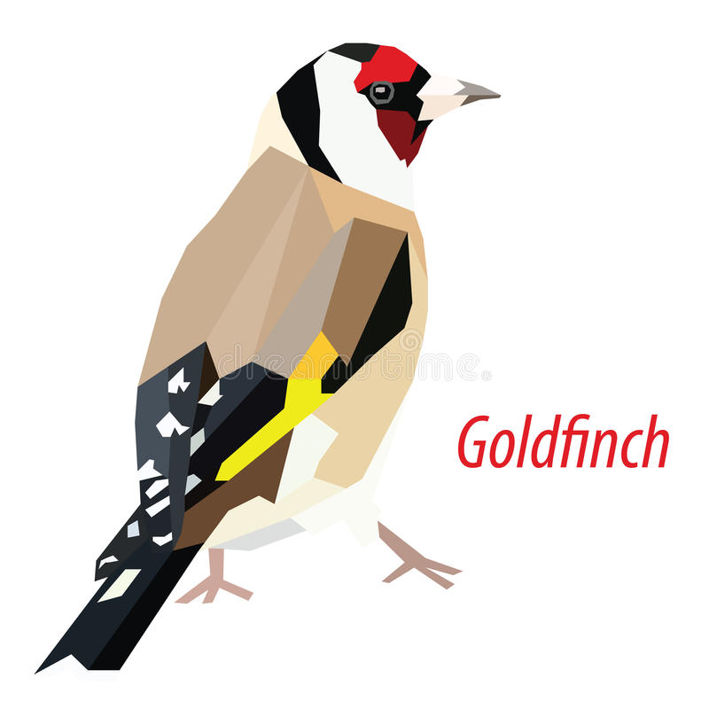 goldfinch stock de ilustración