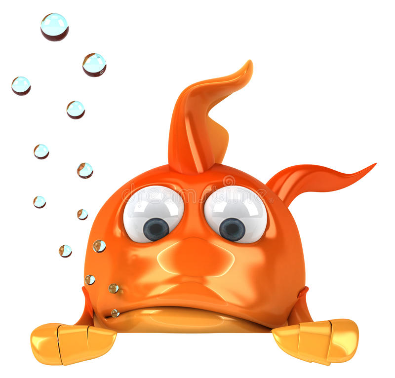 Goldfish ilustração stock