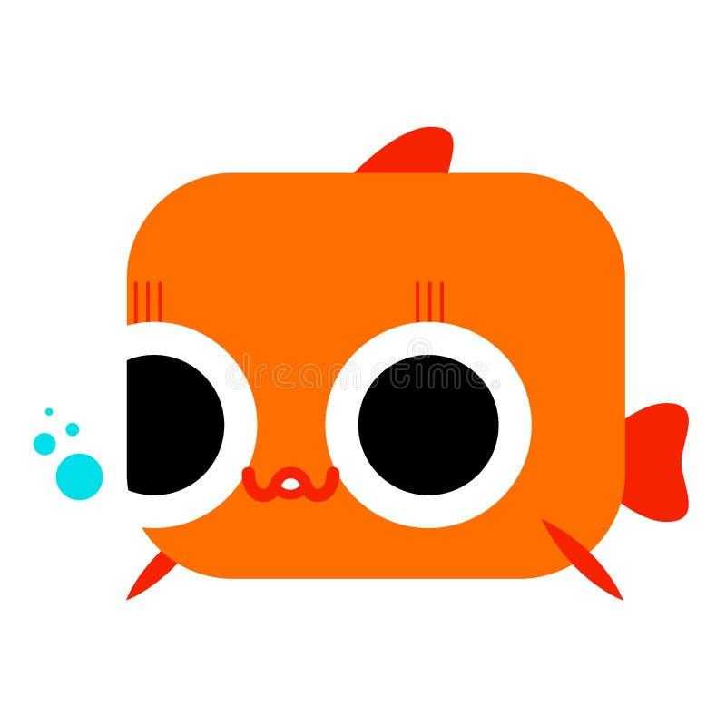 Goldfish lizenzfreie abbildung