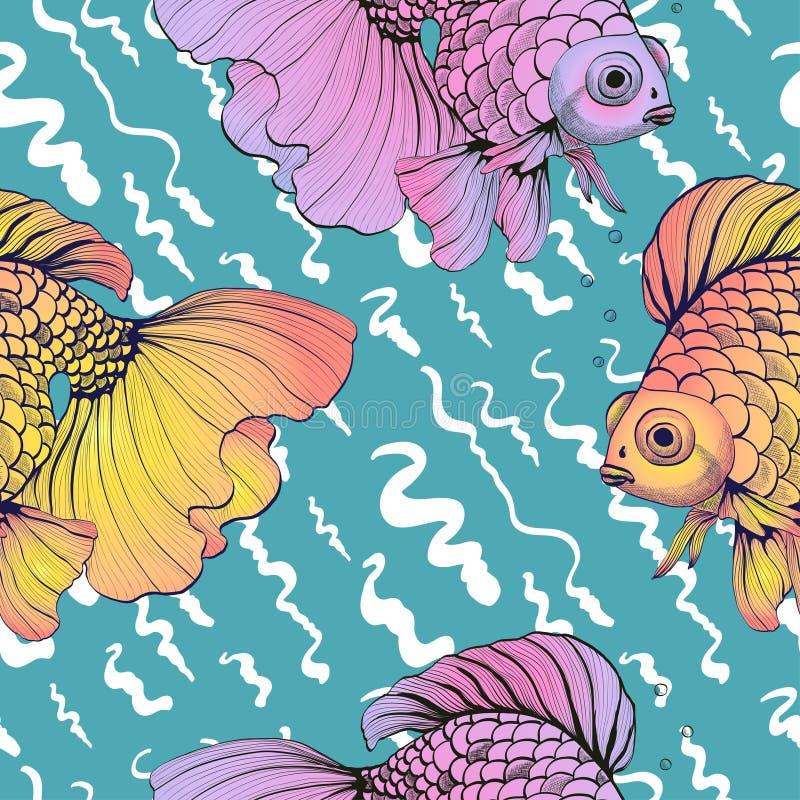 Goldfish stock abbildung