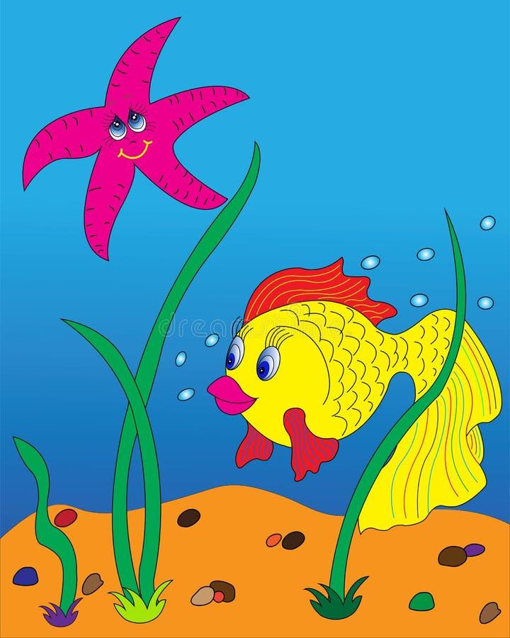 Goldfish. royalty free illustration