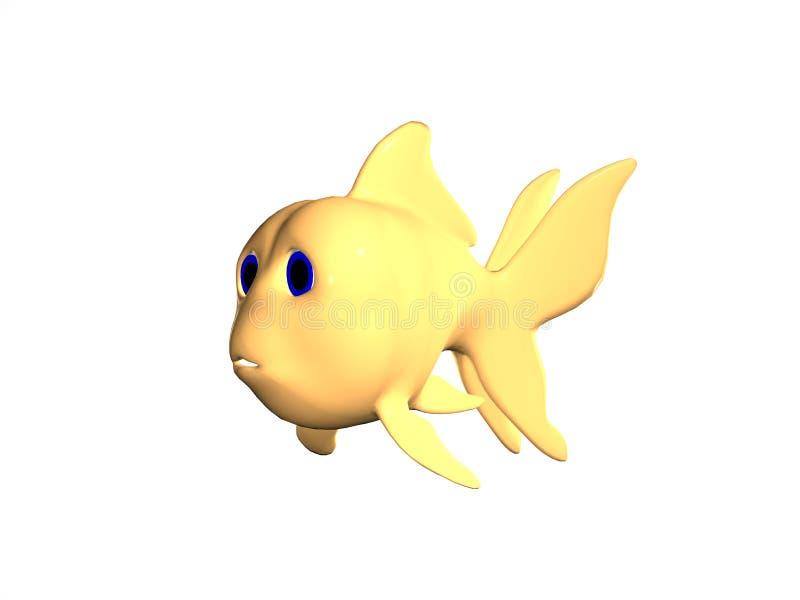 Goldfish Isolated stock images