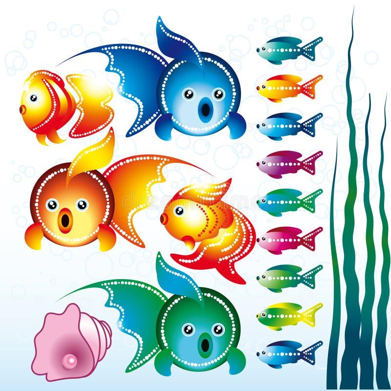 Goldfishes stock illustration