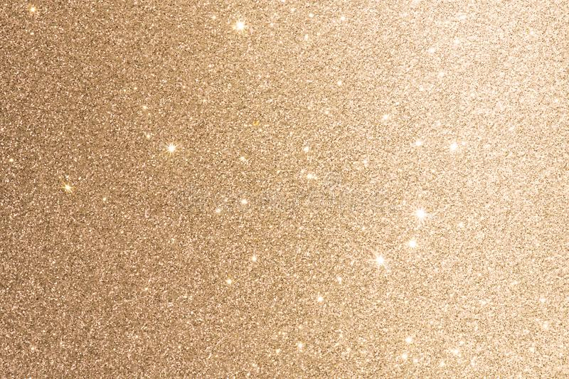 Goldfolien-Hintergrund oder Beschaffenheits-Funkeln-Schein unscharfe Lichter stockfotos
