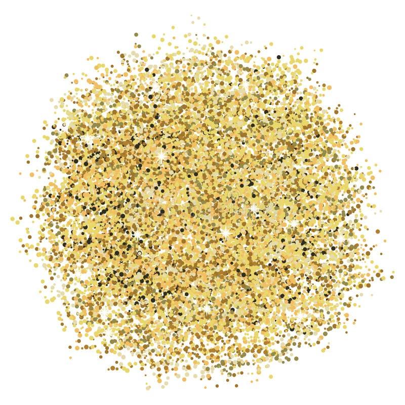 Goldfunkeln stockfotografie