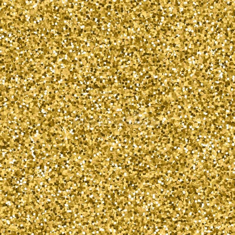 Goldfunkelnbeschaffenheit nahtlos lizenzfreies stockbild