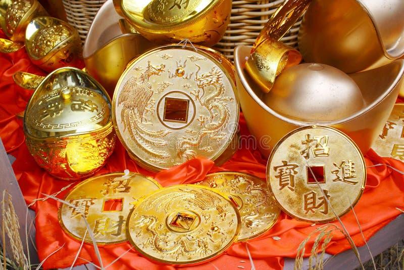 Goldgeld stockfotografie