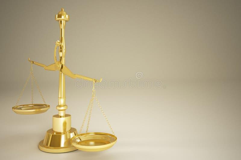 Download Goldgewicht-Skala stock abbildung. Illustration von skala - 26366978