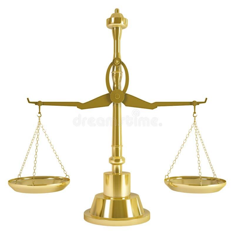 Download Goldgewicht-Skala stock abbildung. Illustration von gewicht - 26366989