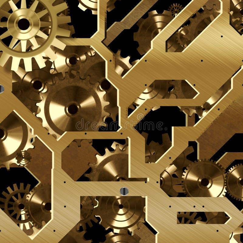Goldhintergrund vektor abbildung