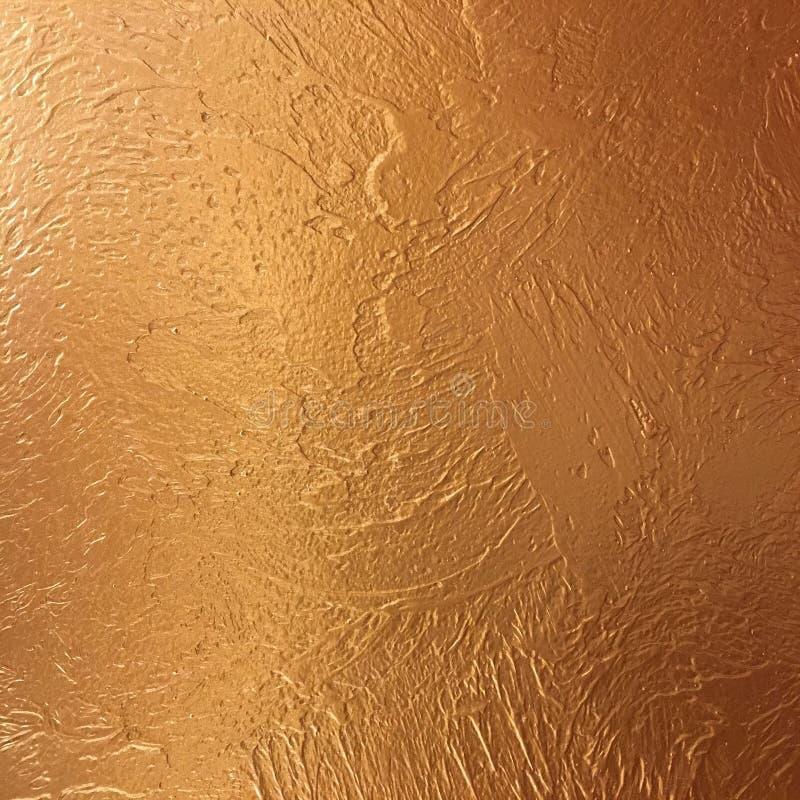 Goldhintergrundpapier, Beschaffenheit ist- alte Weinlese beunruhigte Farbe des gediegenen Golds mit rauer Schalenschmutzfarbe auf stockfotos