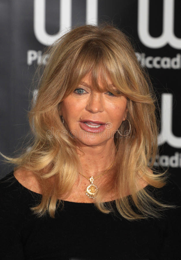 Goldie Hawn lizenzfreie stockbilder