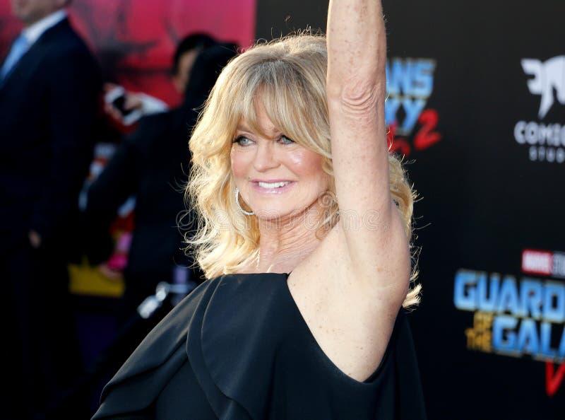Goldie Hawn lizenzfreie stockfotografie