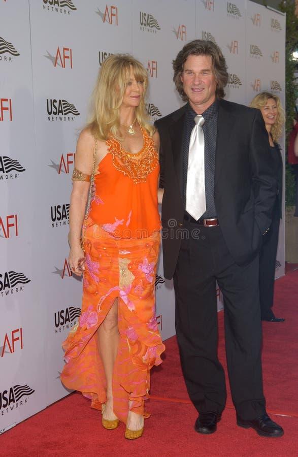 Goldie Hawn, Kurt Russell στοκ φωτογραφίες
