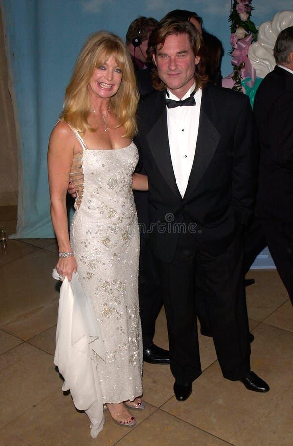 Goldie Hawn, Kurt Russell στοκ εικόνα