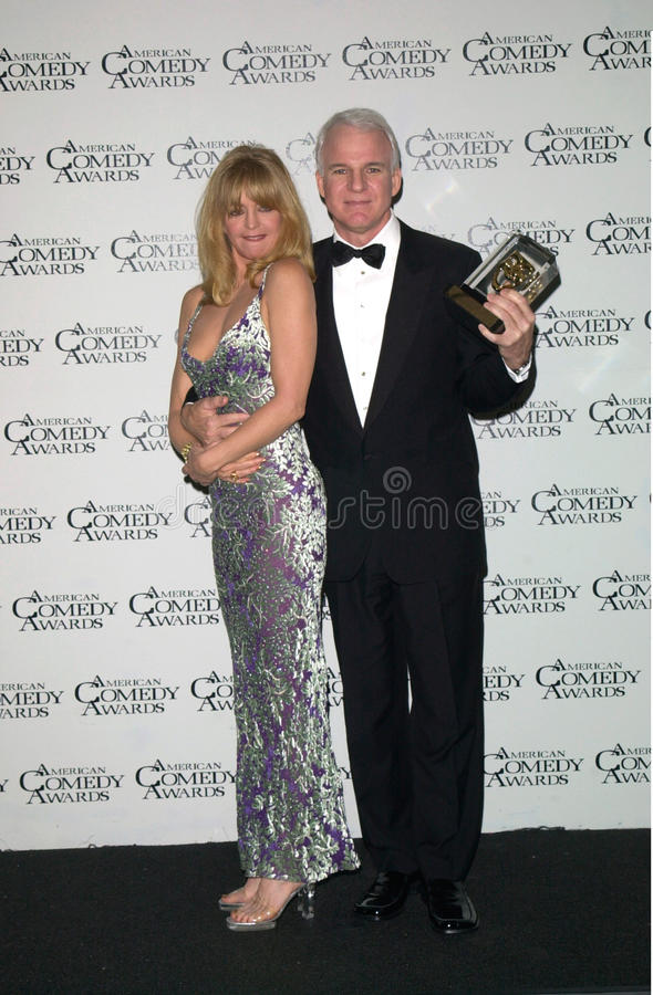 Goldie Hawn, Steve Martin στοκ εικόνα με δικαίωμα ελεύθερης χρήσης