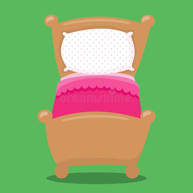 Free Goldilocks And The 3 Bear Bed Pink 07 Royalty Free Stock Image - 198987266