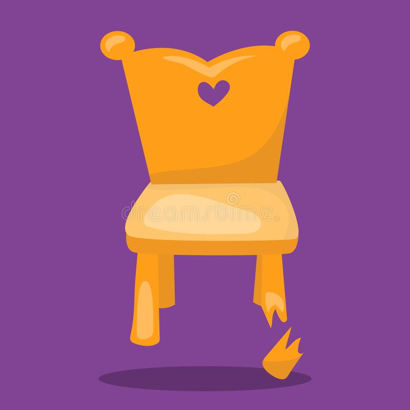 Free Goldilocks And The 3 Bear Chair Broken 10 Royalty Free Stock Images - 198987269
