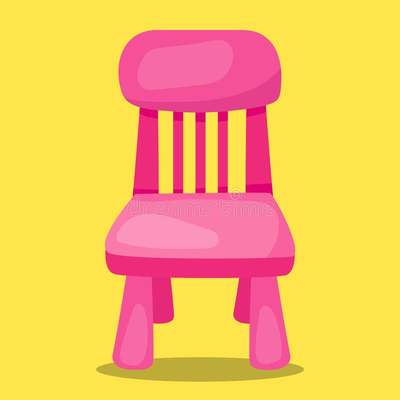 Free Goldilocks And The 3 Bear Chair Pink 12 Stock Image - 198987271