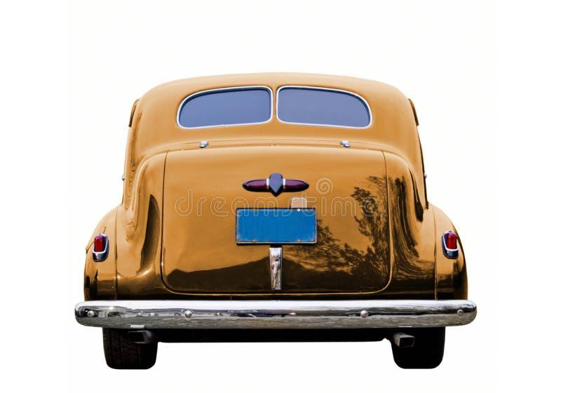 Goldklassiker-Auto stockbild