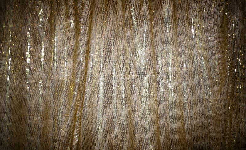 Goldkreisgewebe-Hintergrundweinlese lizenzfreie stockfotos