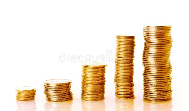 Goldmünze lizenzfreie stockfotografie