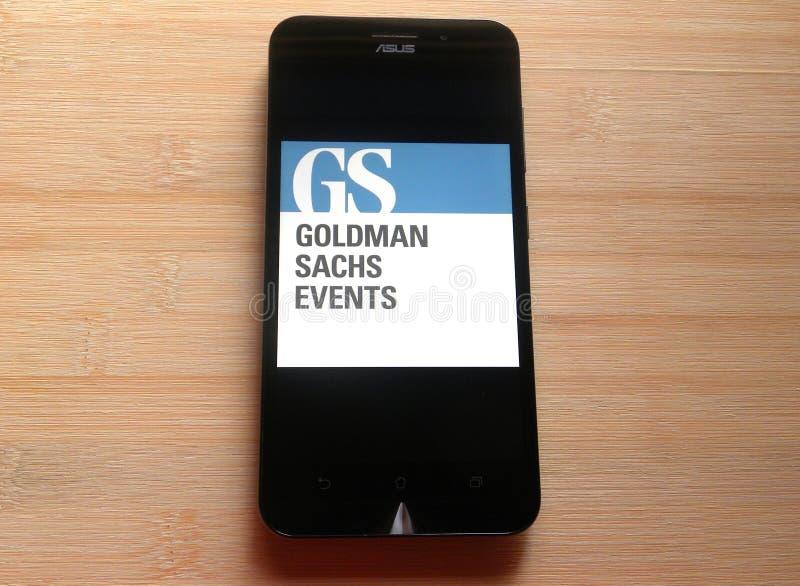 Goldman Sachs στοκ εικόνα