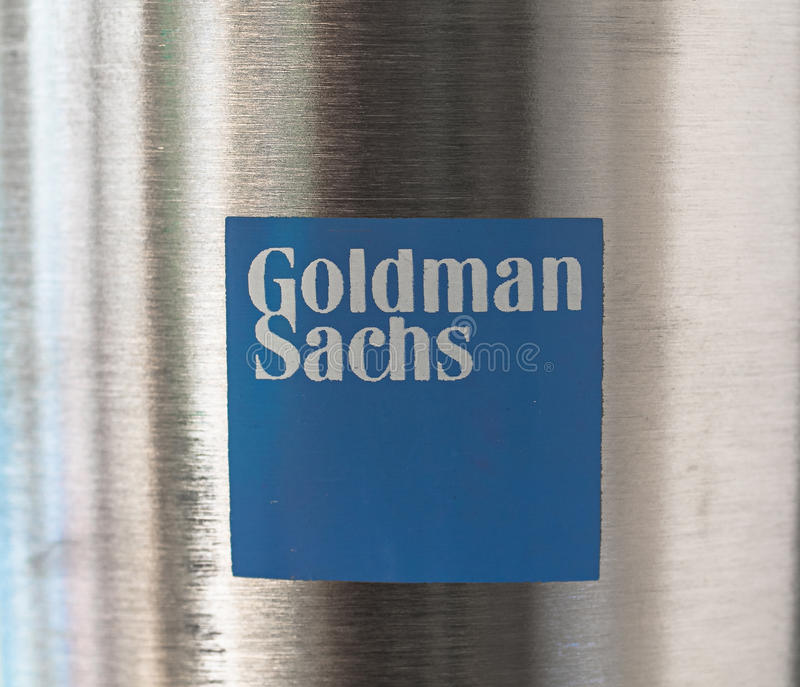 Goldman Sachs fotos de archivo libres de regalías