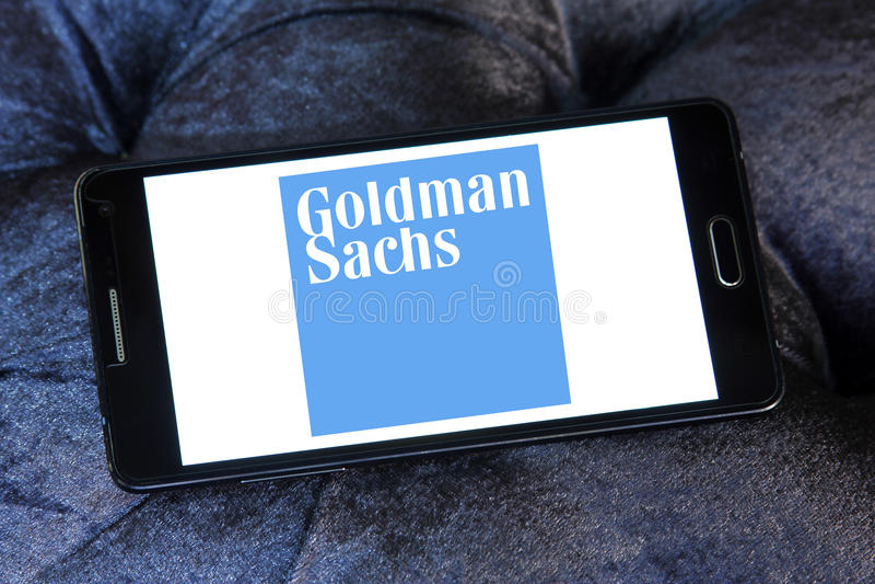 Goldman sachs grupowy logo obraz royalty free