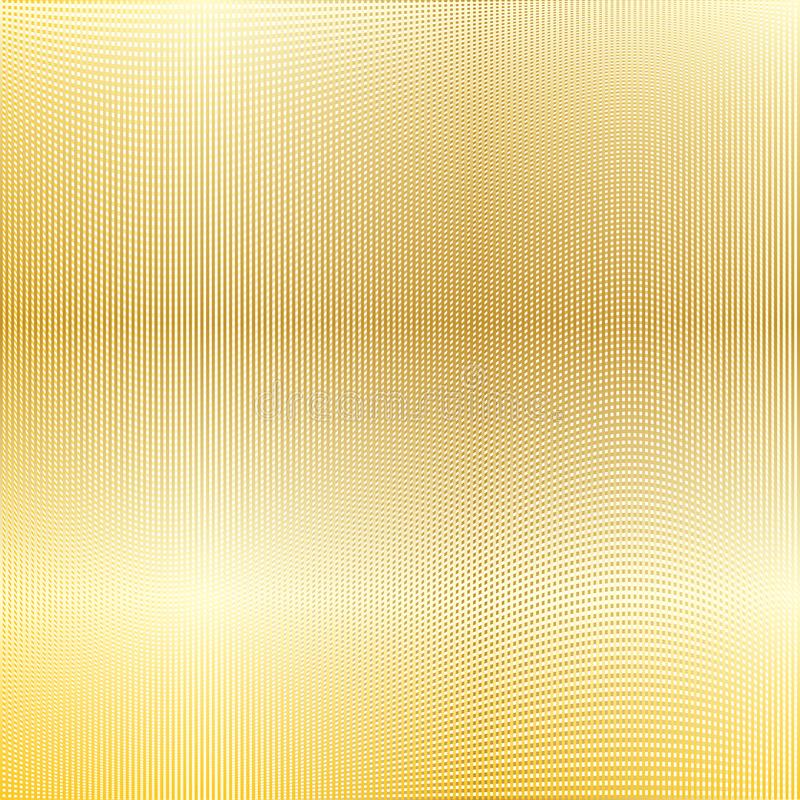Goldmaschenhintergrund lizenzfreie abbildung