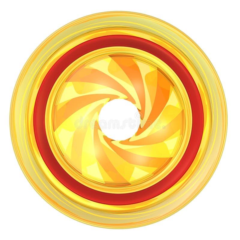 Goldmembrane lizenzfreie abbildung