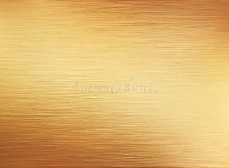 Goldmetallbeschaffenheitshintergrund vektor abbildung