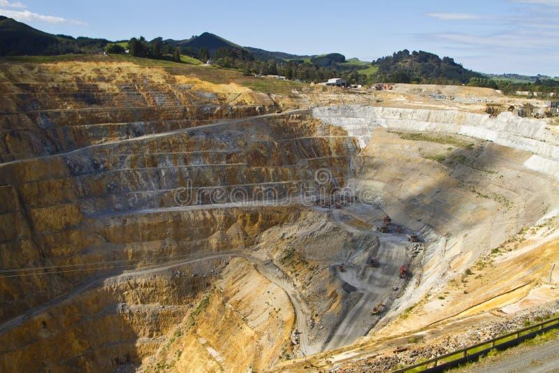 Goldmine lizenzfreies stockbild