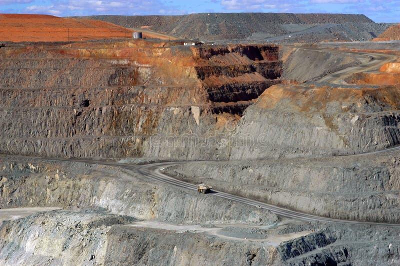 Goldmine de Kalgoorlie photos libres de droits