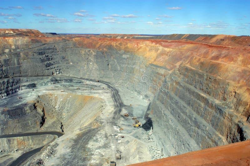 Goldmine de Kalgoorlie photographie stock libre de droits