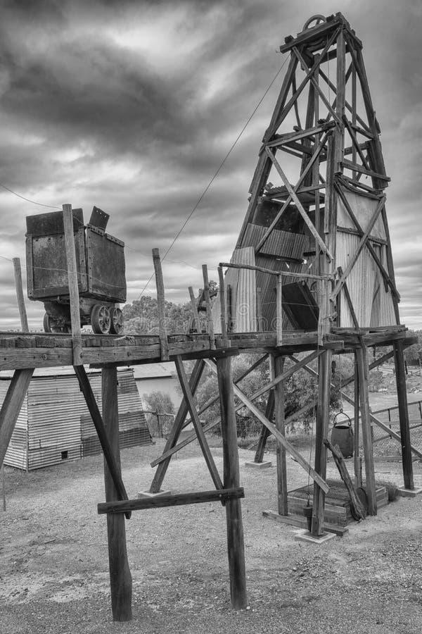 Goldmine, Kalgoorlie, West-Australien lizenzfreies stockbild